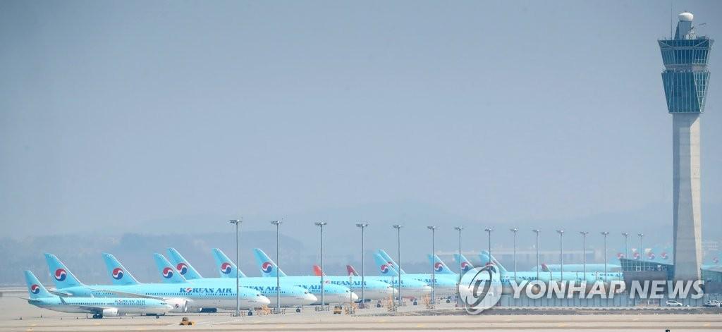 消息:韩两大航空公司5月继续停飞北京