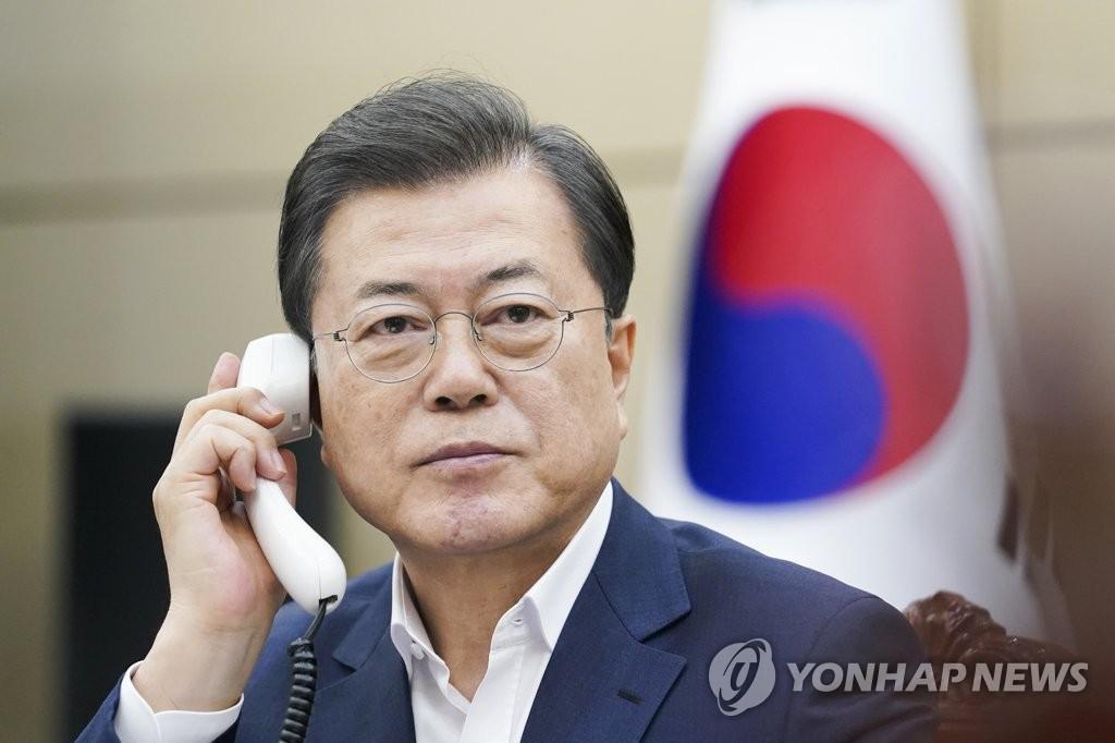 韩西班牙首脑通电话:望全球携手一致抗疫