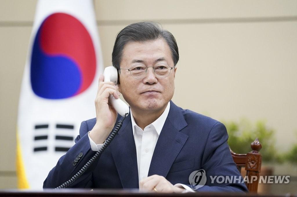 详讯:韩加领导人通电话共商合作抗击新冠疫情