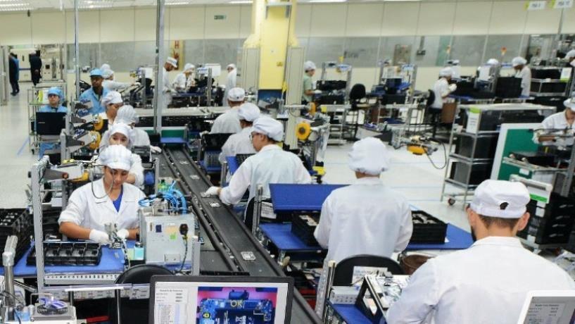 资料图片:三星电子坎皮纳斯工厂 三星电子供图(图片严禁转载复制)