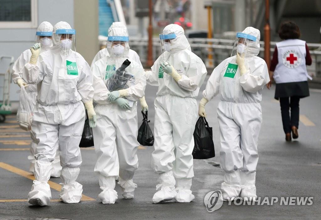 详讯:韩国新增105例新冠确诊病例 累计9583例