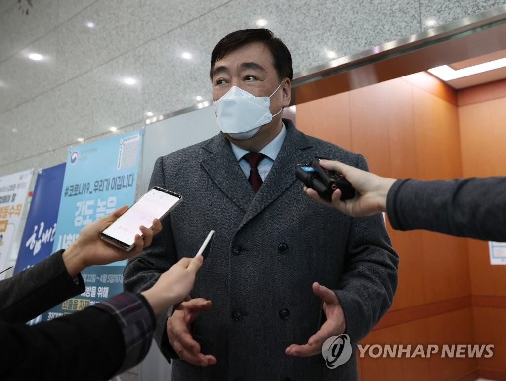中国驻韩大使:中韩人员往来未间断