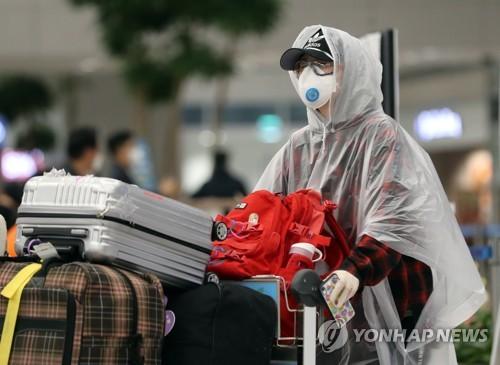 韩国境外输入病例持续增加 本周日均逾40例