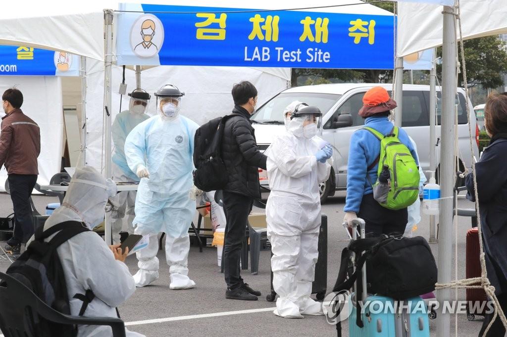 济州机场开设免消毒筛查点