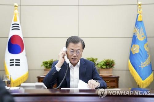 韩埃塞俄比亚首脑通电话共商抗击新冠疫情