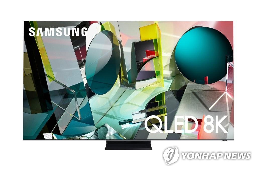超感全视屏(Infinity Screen)无边框Q950TS QLED 8K电视 三星电子供图(图片严禁转载复制)