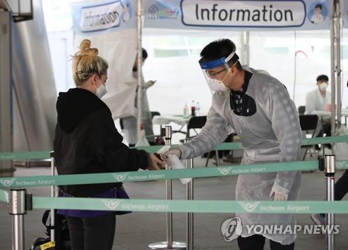 入境外国旅客受检