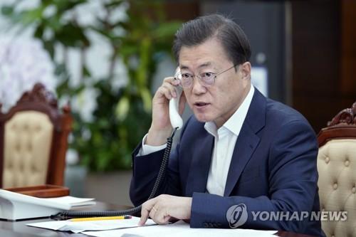 韩保加利亚领导人通电话