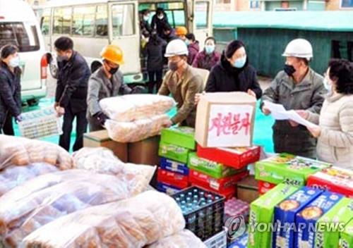 朝鲜各地支援平壤建医院
