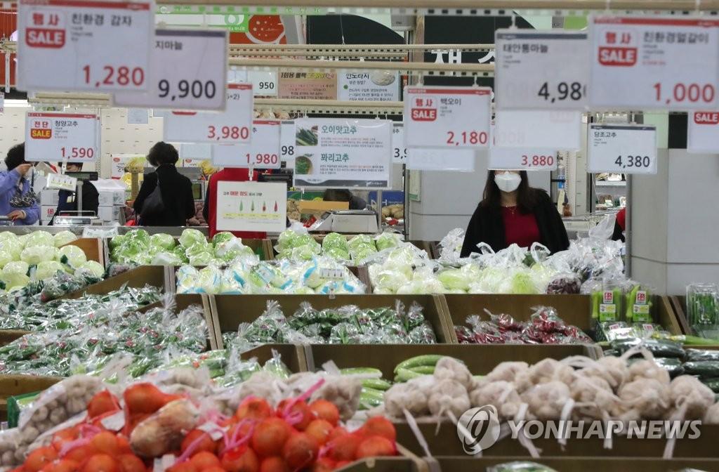 详讯:韩国4月CPI同比上涨0.1%