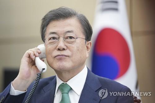 韩丹领导人通电话