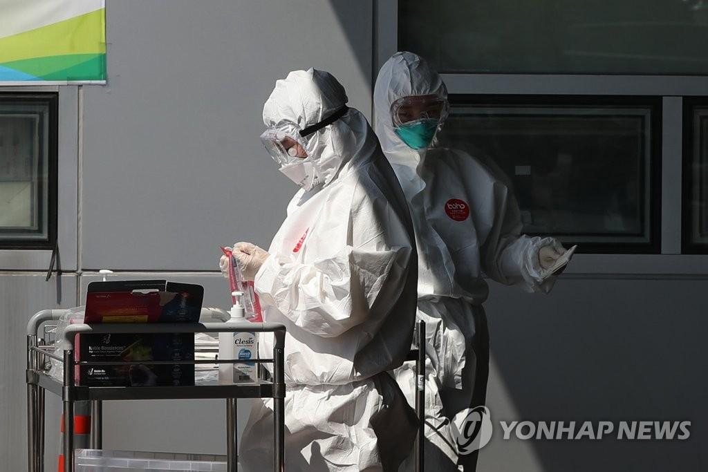 简讯:韩国新增10例新冠确诊病例 累计10738例