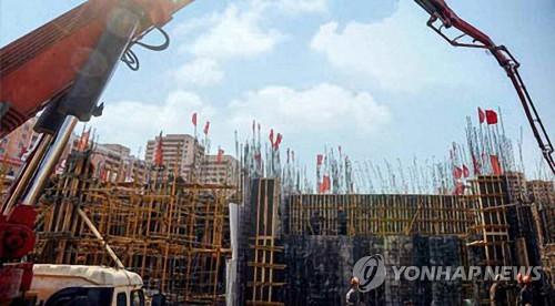 平壤综合医院建设工程加速推进