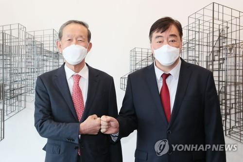 全经联主席与中国驻韩大使