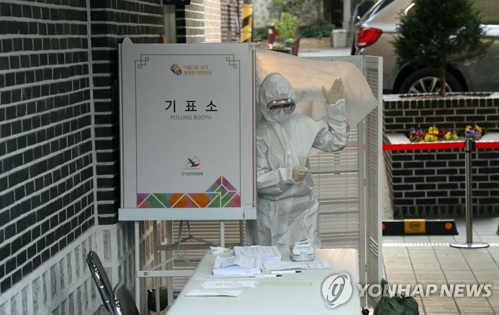 韩防疫部门:感谢全民认真践行选举防疫守则