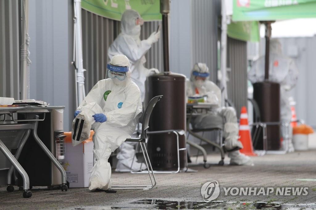 简讯:韩国新增11例新冠确诊病例 累计10694例