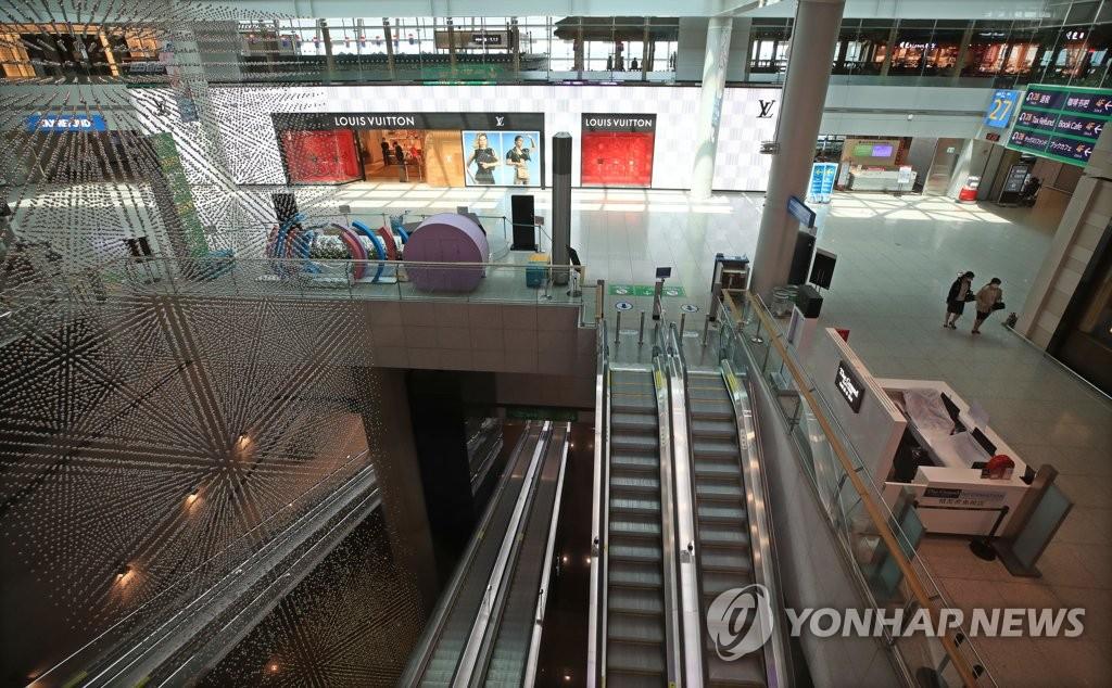 疫情下韩免税店3月客流量同比下降近九成