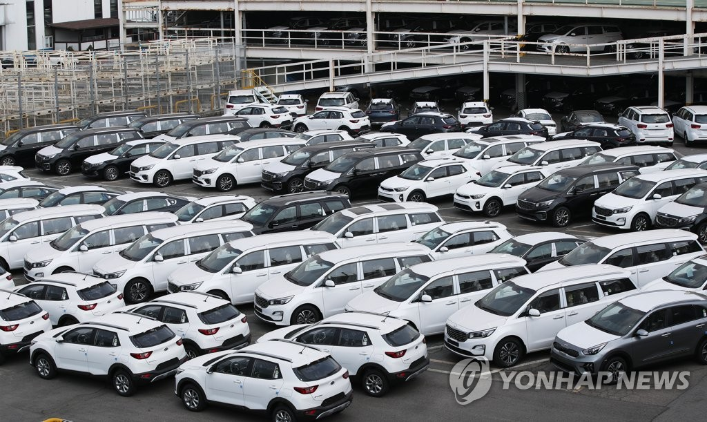 韩国4月汽车出口同比减少36%