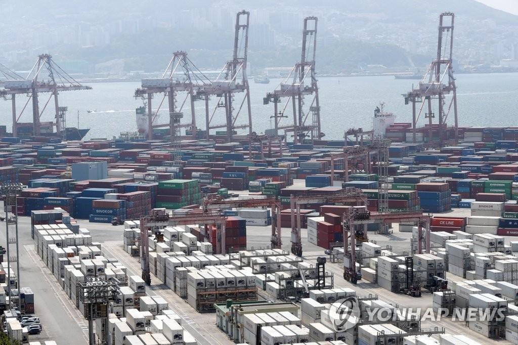 韩国5月前10天出口同比减46.3%