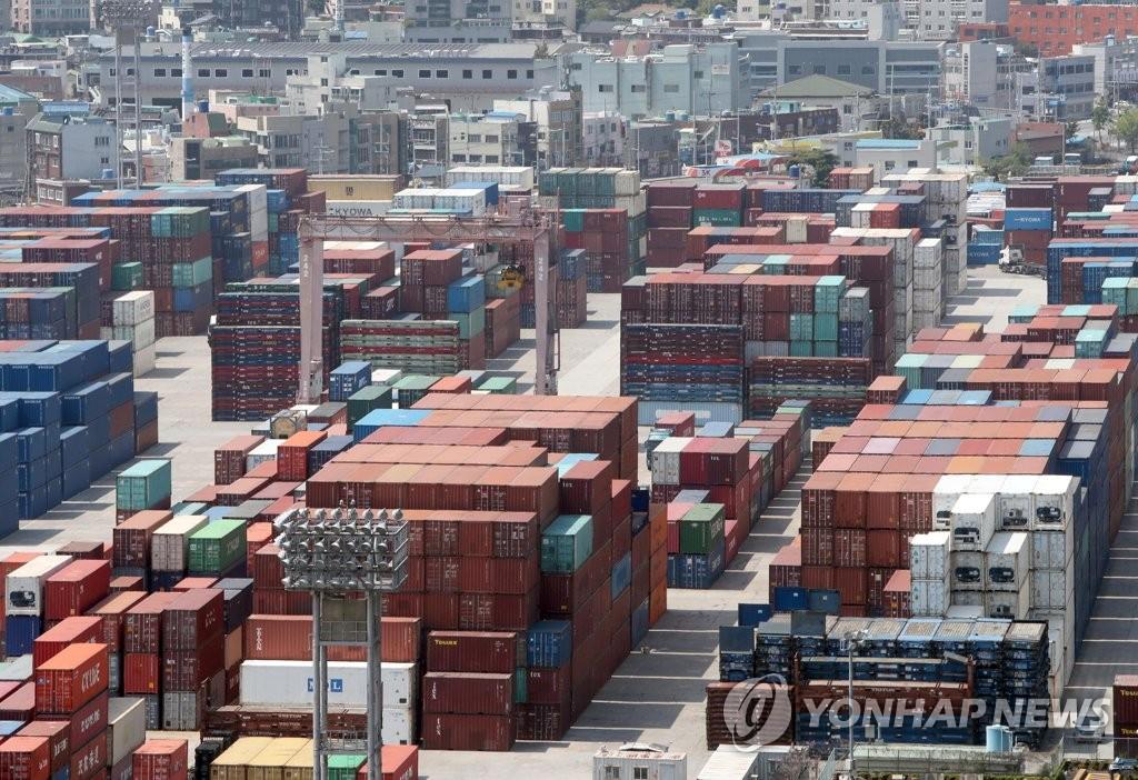 韩4月贸易港进出口吞吐量同比降11.6%
