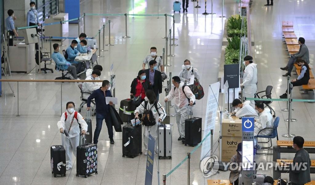 韩国加强对自科入境者的检疫警示当地感染风险