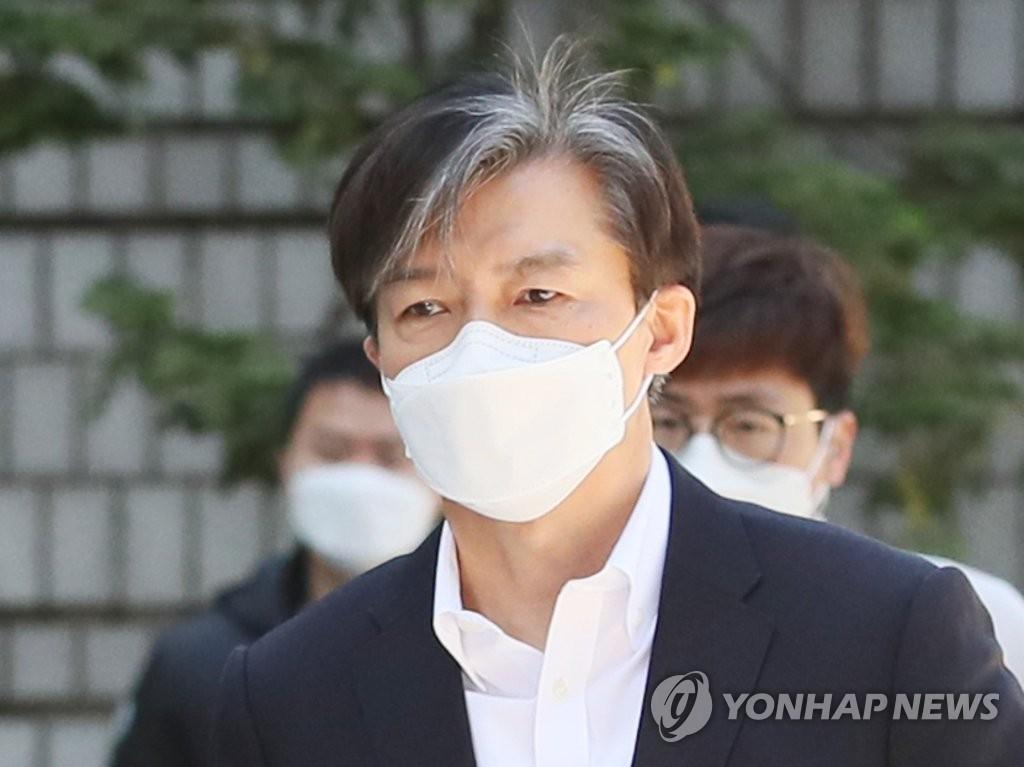 前法务部长曹国出庭受审:将与歪曲行径抗争到底