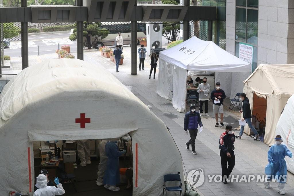 简讯:韩国新增35例新冠确诊病例 累计10909例