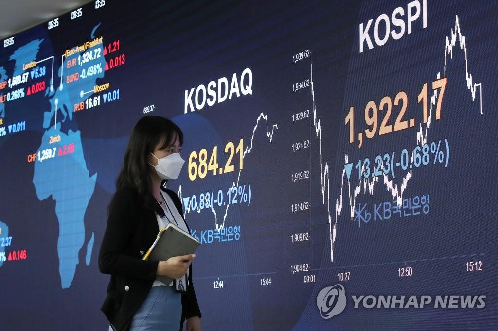 韩股市4月外资净流出43亿美元
