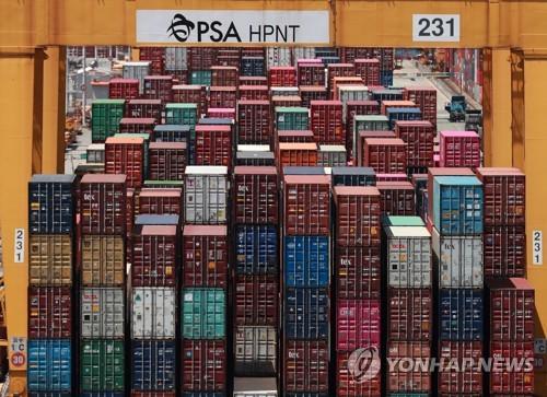 韩国10月前20天出口同比减少5.8%
