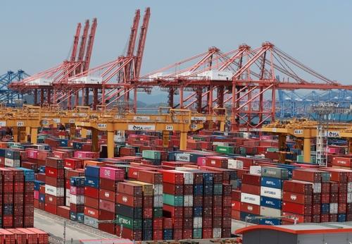韩国7月前10天出口同比减1.7%