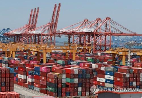 韩国8月前20天出口同比减少7%