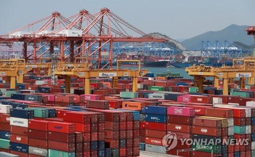 韩国9月前10天出口同比减少0.2%