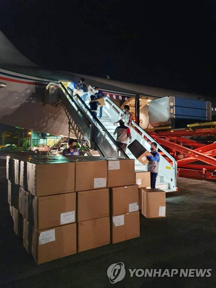 韩产试剂盒运抵赤道几内亚