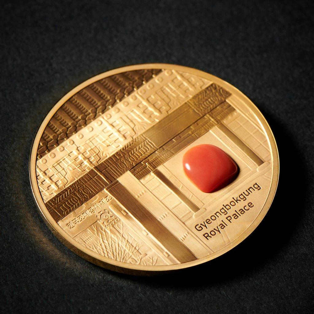 韩文物厅推出王室系列纪念币