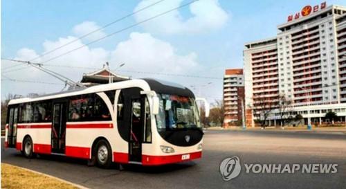 朝鲜无轨电车配置自产充放电机