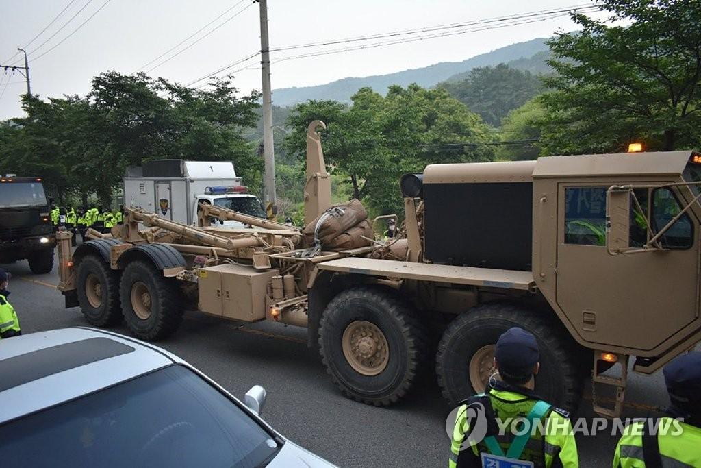 韩政府否认改进萨德性能设备被运入基地