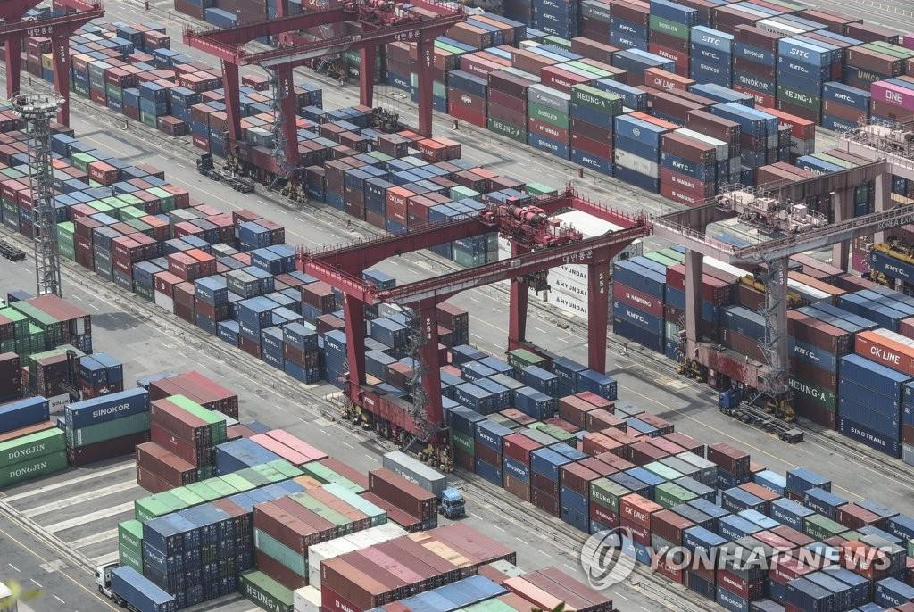 韩国7月前20天出口同比减12.8%