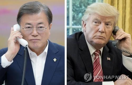 详讯:韩美领导人通电话商讨七国集团峰会