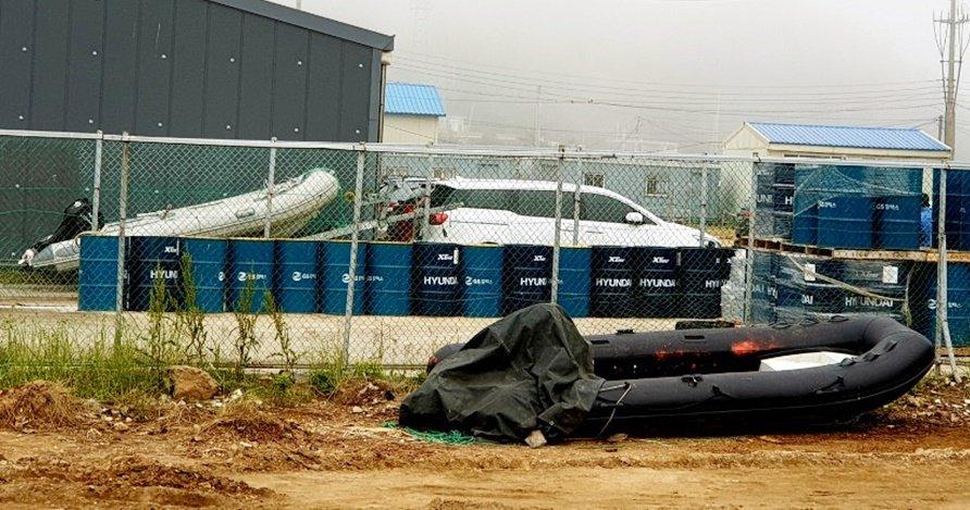 韩海警抓获21名中国偷渡客