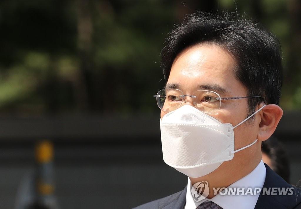 三星李在镕出庭接受逮捕必要性审查