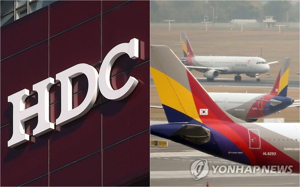 HDC现代产业完成与韩亚航空合并业务海外批准流程