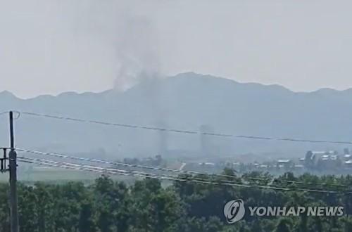 详讯:韩统一部证实朝鲜爆破韩朝联办