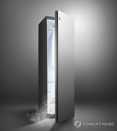 LG蒸汽衣物护理机Styler热销海外
