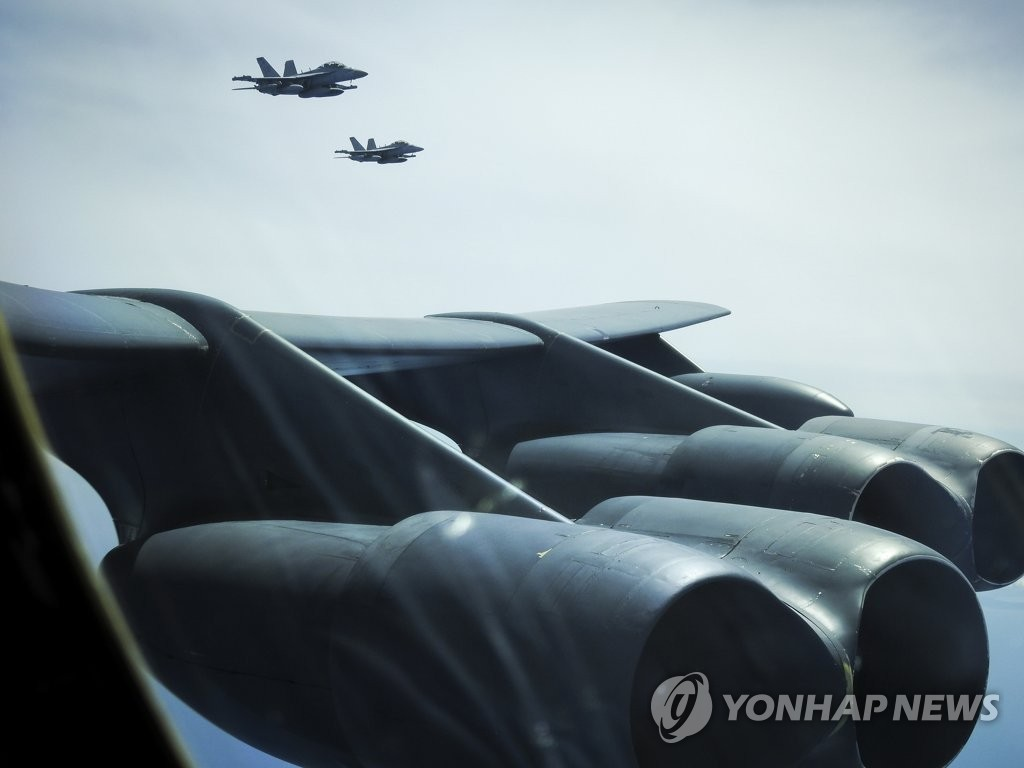 美B-52轰炸机飞临日本或意在间接警告朝鲜