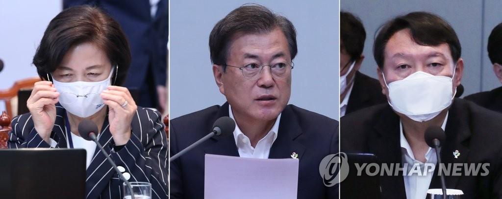 详讯:文在寅批准处分检察总长 法务部长请辞