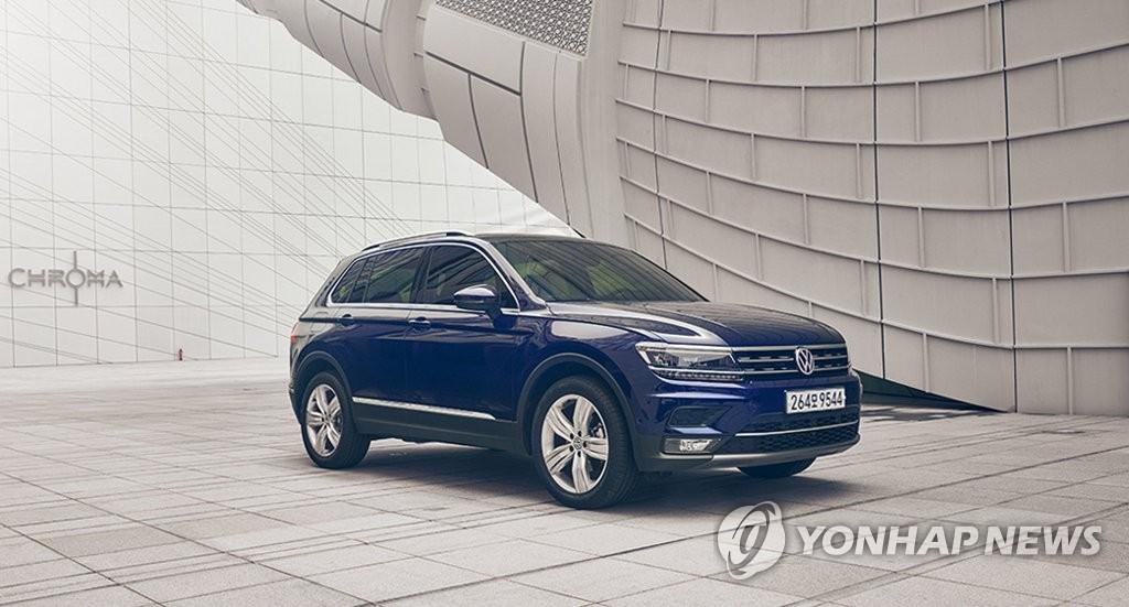 大众途观在韩销量累计突破5万辆,图为新型途观。 大众韩国公司供图(图片严禁转载复制)
