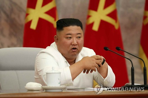 金正恩主持劳动党政治局会议抓防疫