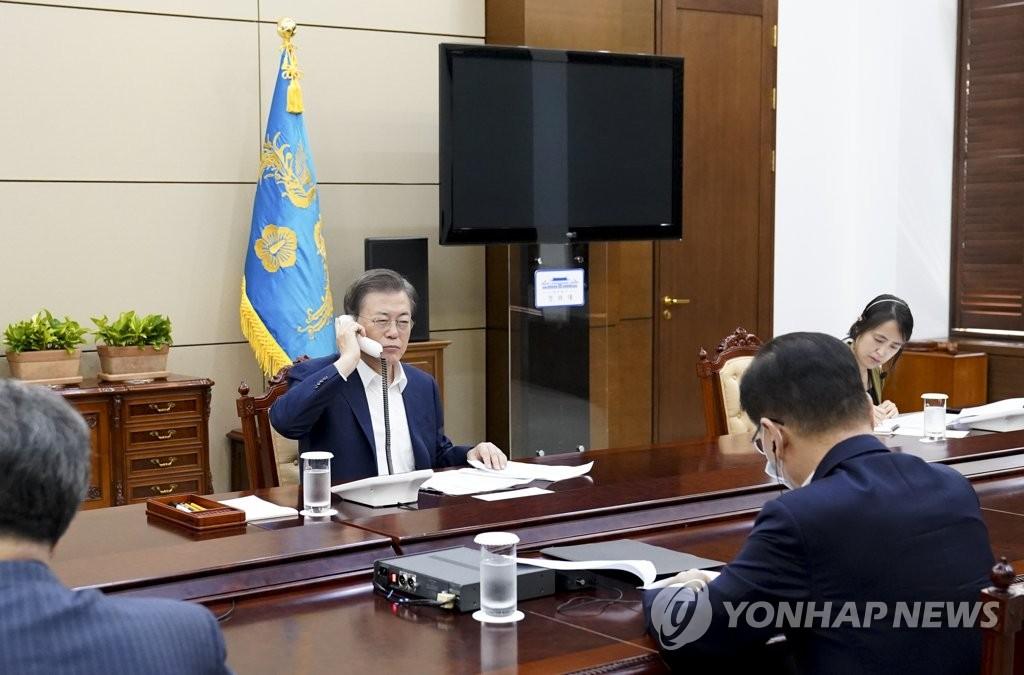 韩阿根廷总统通电话讨论防疫合作