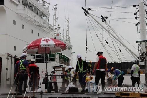 釜山甘川港恢复运营
