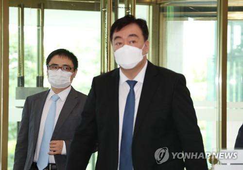 中国驻韩大使访问外交部